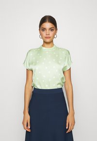 EDITED - LENYA BLOUSE - Blouse - foam green - 0
