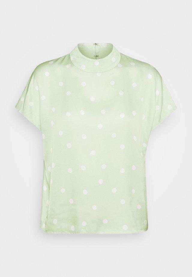 LENYA BLOUSE - Bluse - foam green