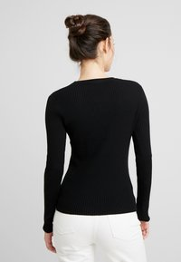 EDITED - ALESIA JUMPER - Maglione - black - 2