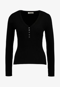 EDITED - ALESIA JUMPER - Maglione - black - 4