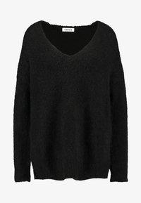 EDITED - FAWINI - Sweter - schwarz - 3