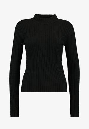 JANNICE JUMPER - Jersey de punto - black