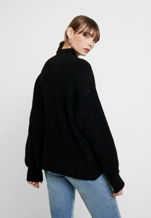 EDITED KIANA JUMPER - Sweter - schwarz Odzież Damska JPFT-KL2 tani
