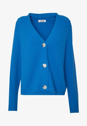 LOGAN CARDIGAN - Cardigan - blau