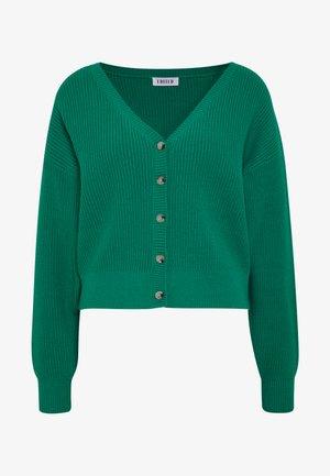 BRADY CARDIGAN - Cardigan - grün