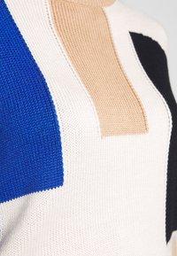 EDITED - TILLY JUMPER - Trui - beige, rot, blau - 4
