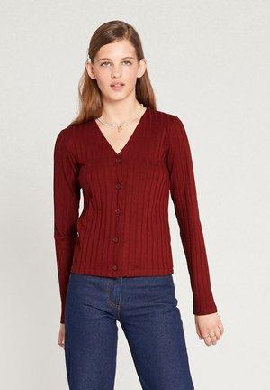 LENORA - Vest - rost brown