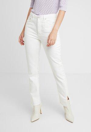 KAIA - Skinny džíny - white
