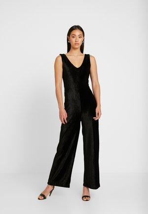 LEELA - Tuta jumpsuit - schwarz