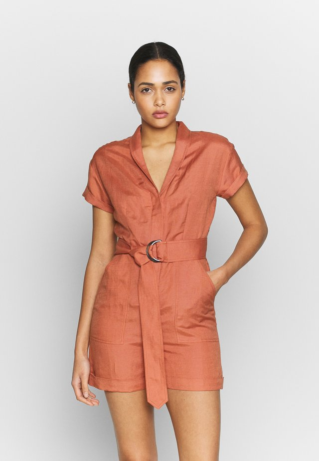 INAYA - Jumpsuit - cedar wood