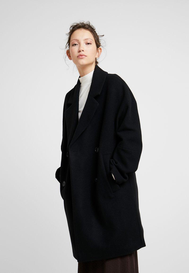 EDITED - HANNE COAT - Wollmantel/klassischer Mantel - black