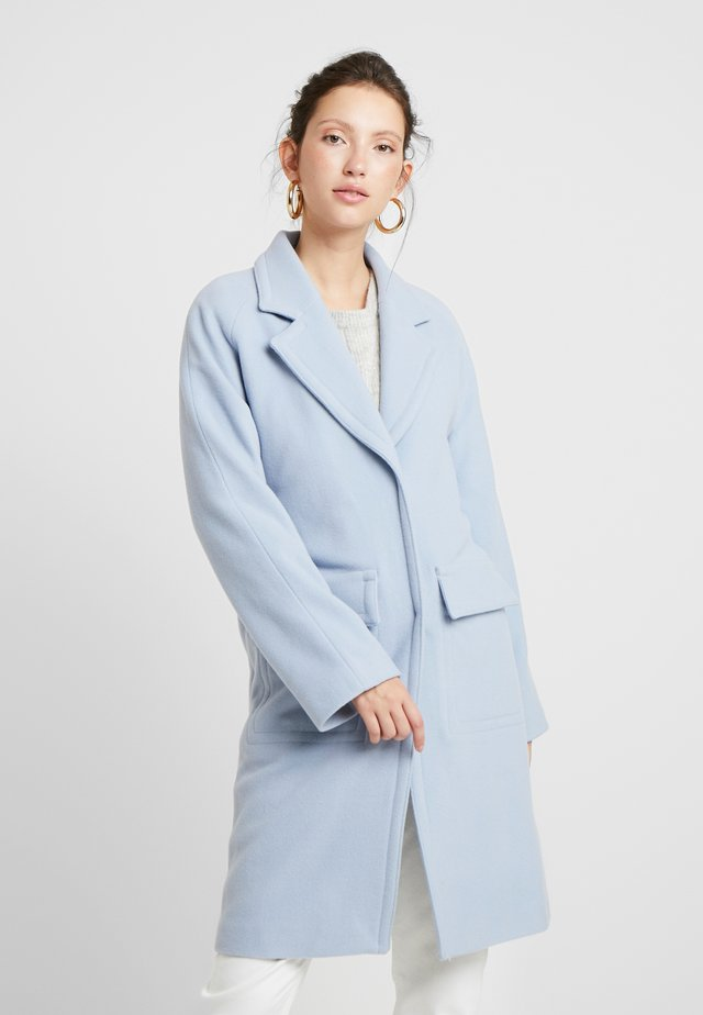 ELIAS COAT - Villakangastakki - light blue