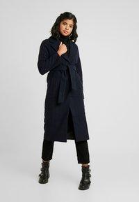 EDITED - CECILIA COAT - Classic coat - navy - 0