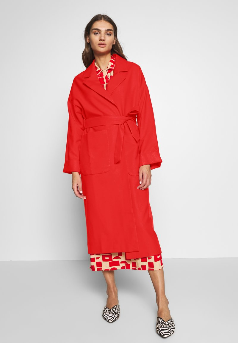 EDITED - SANTO COAT - Classic coat - rot