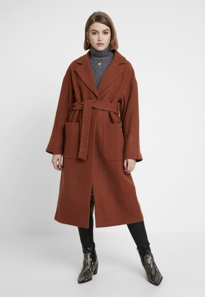SANTO COAT - Classic coat - braun
