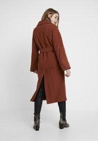 EDITED - SANTO COAT - Classic coat - braun - 2
