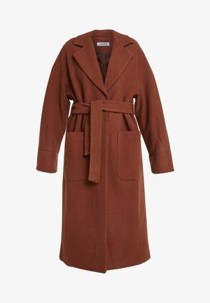 SANTO COAT - Płaszcz wełniany /Płaszcz klasyczny - braun