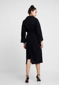 EDITED - SANTO COAT - Zimní kabát - black - 2