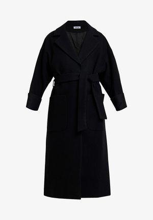 SANTO COAT - Zimní kabát - black