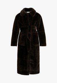 EDITED - NACLA COAT - Zimní kabát - braun/dunkelbraun - 4