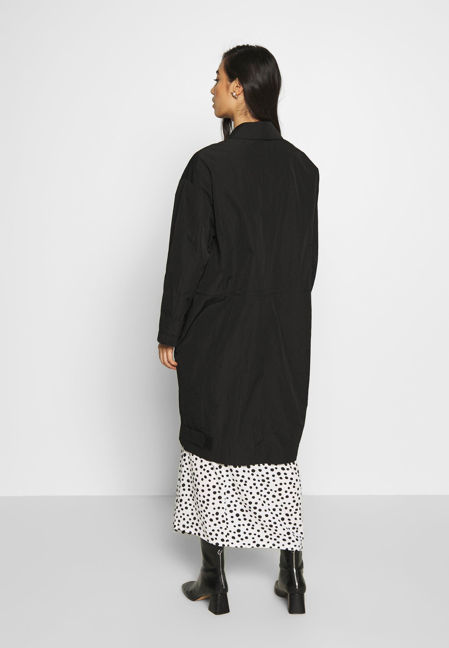 EDITED INGVAR COAT - Krótki płaszcz - black
