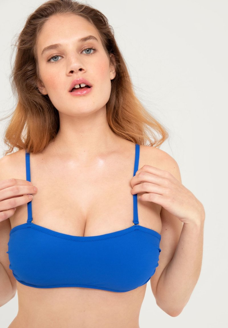 EDITED - MAHSIMA - Bikinitop - blue