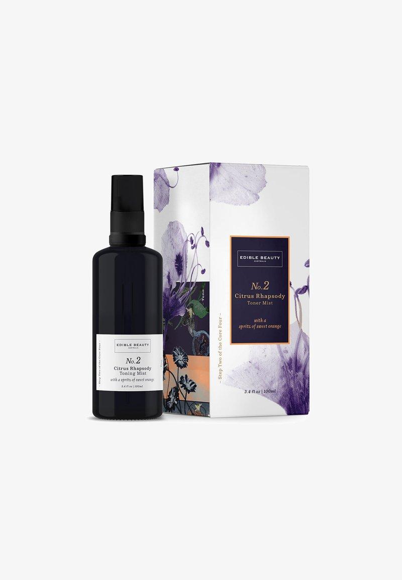 Edible Beauty Australia - NO. 2 CITRUS RHAPSODY TONER MIST - Tonik - -