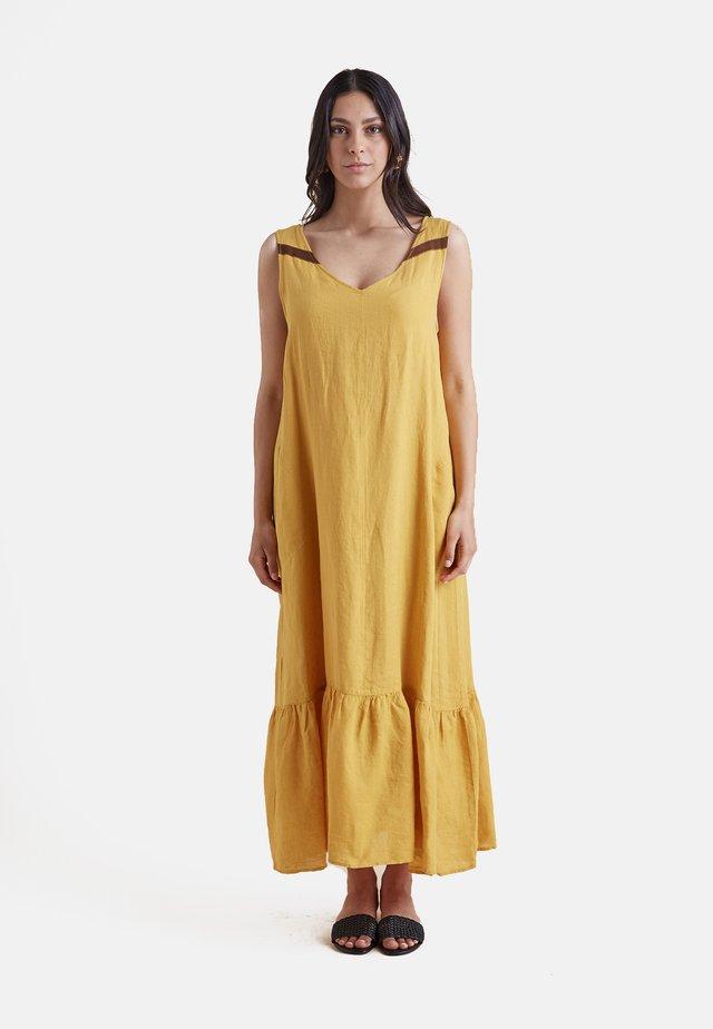 Maxi dress - giallo