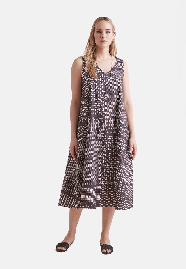BEDRUCKTES  - Maxi dress - marrone