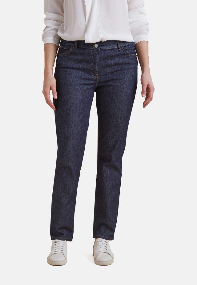 Straight leg jeans - blu