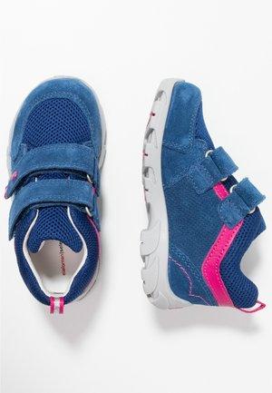PAMELA - Baby shoes - blau