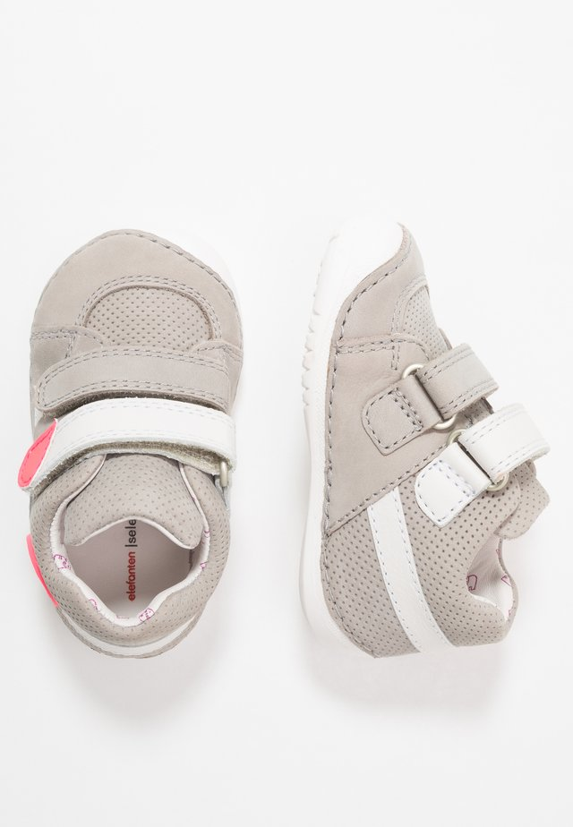 LUTON - Baby shoes - grey