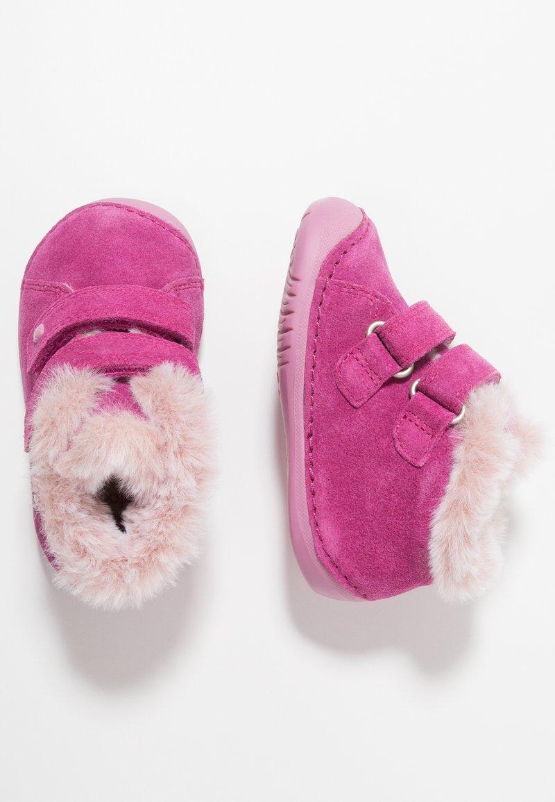 Elefanten - LUBEAR - Lær-at-gå-sko - pink