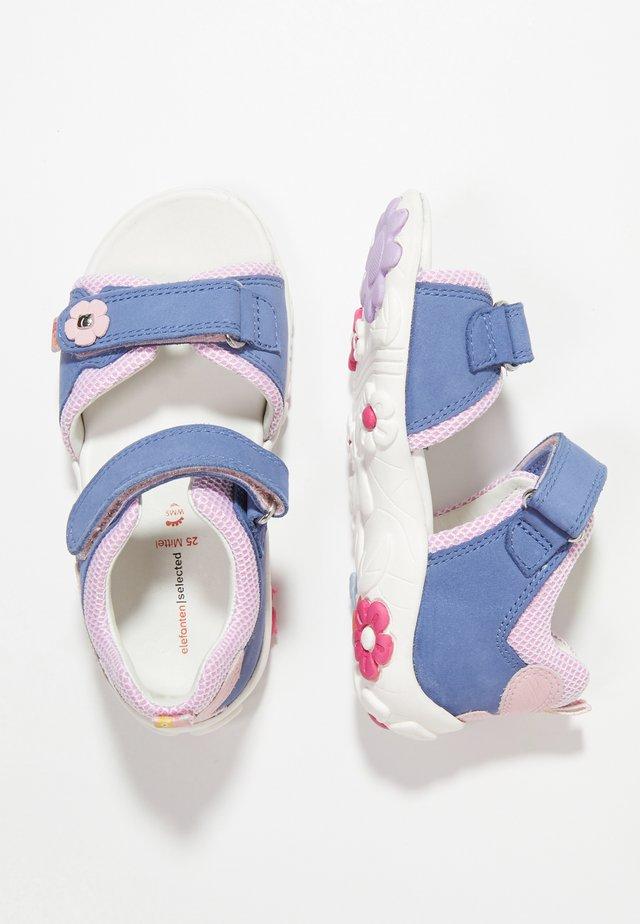 POLLY - Sandaalit nilkkaremmillä - blue