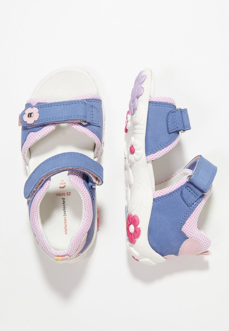 Elefanten - POLLY - Sandals - blue