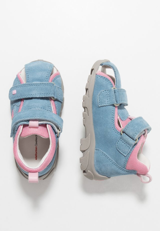 FRAPY - Baby shoes - light pink/blue