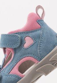 Elefanten - FRAPY - Baby shoes - light pink/blue - 2
