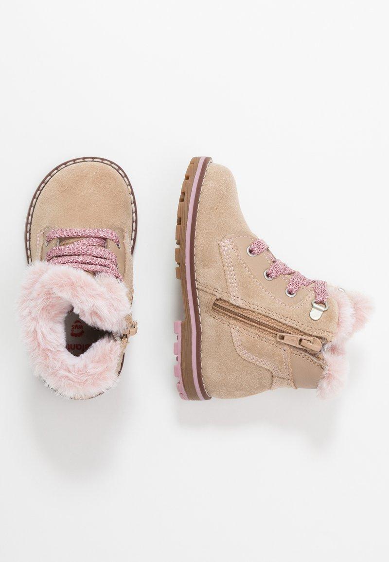 Elefanten - BRUNA - Lace-up ankle boots - light brown