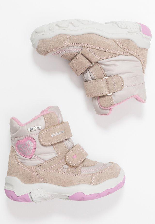 GALA - Kotníkové boty - sand/rosa