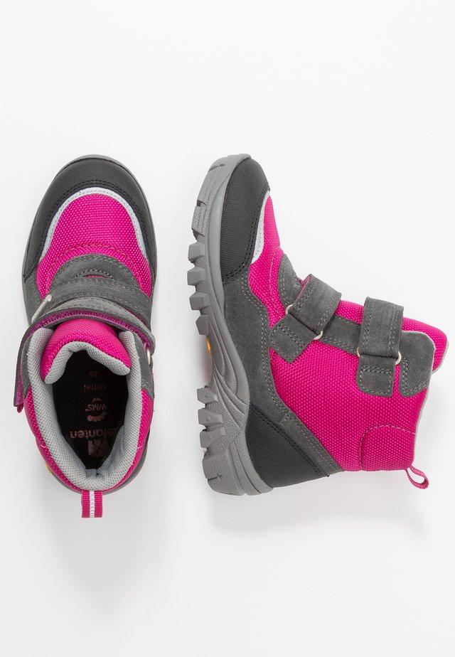 PIER - Bottes de neige - pink/grau