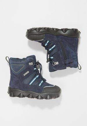 KRISS - Baby shoes - dunkelblau