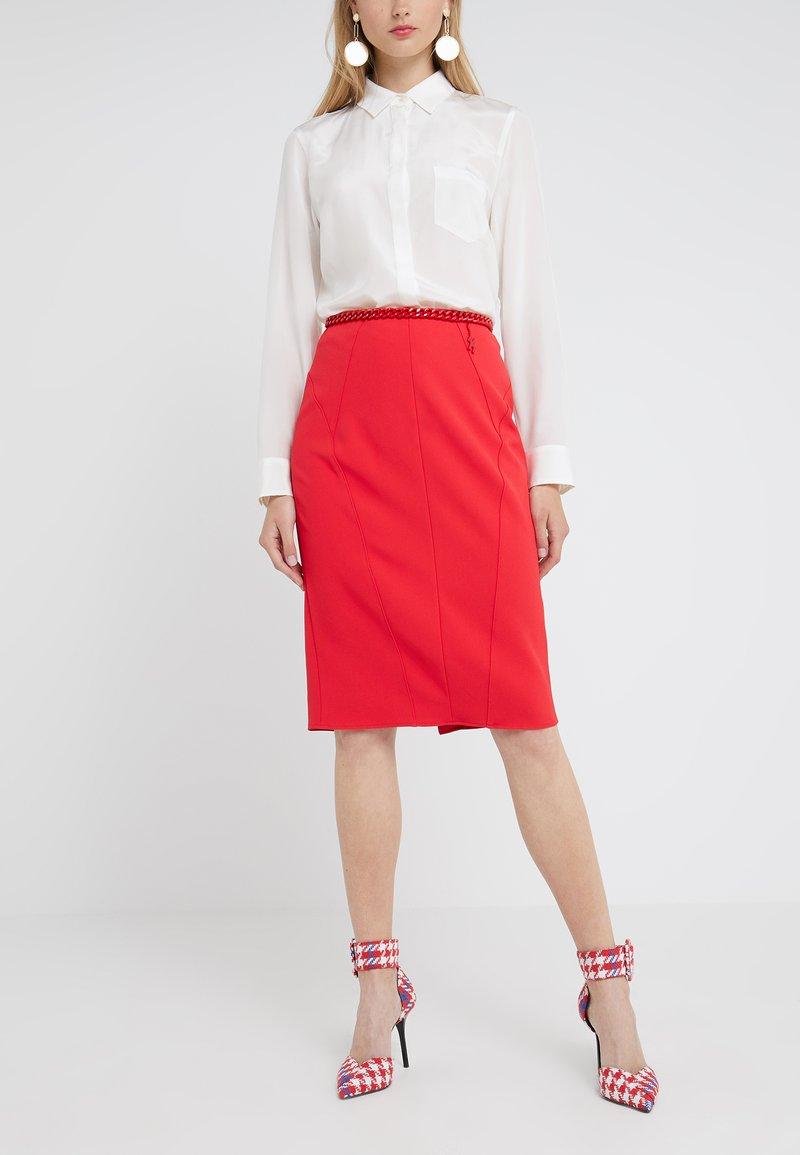 Elisabetta Franchi - Falda de tubo - ribes