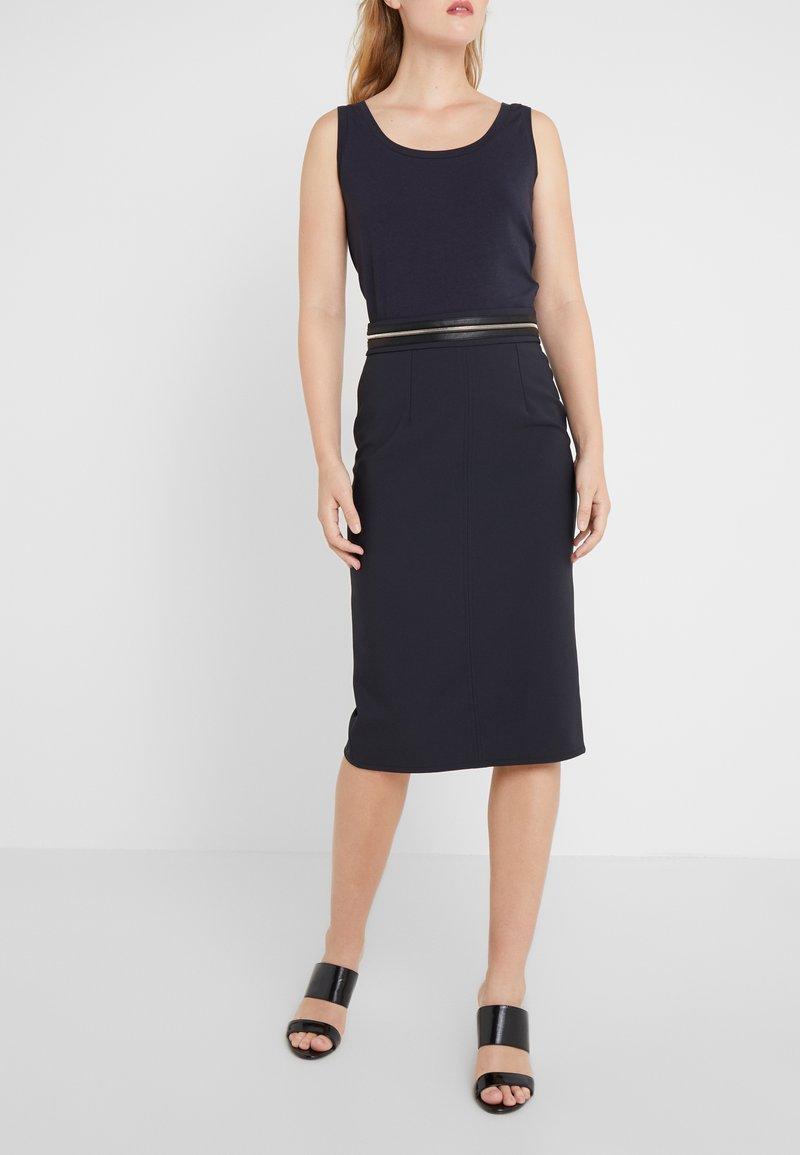 Elisabetta Franchi - Falda de tubo - nero