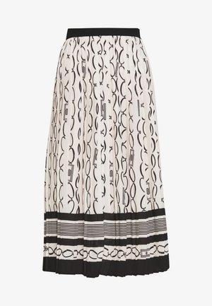 Áčková sukně - burro/nero