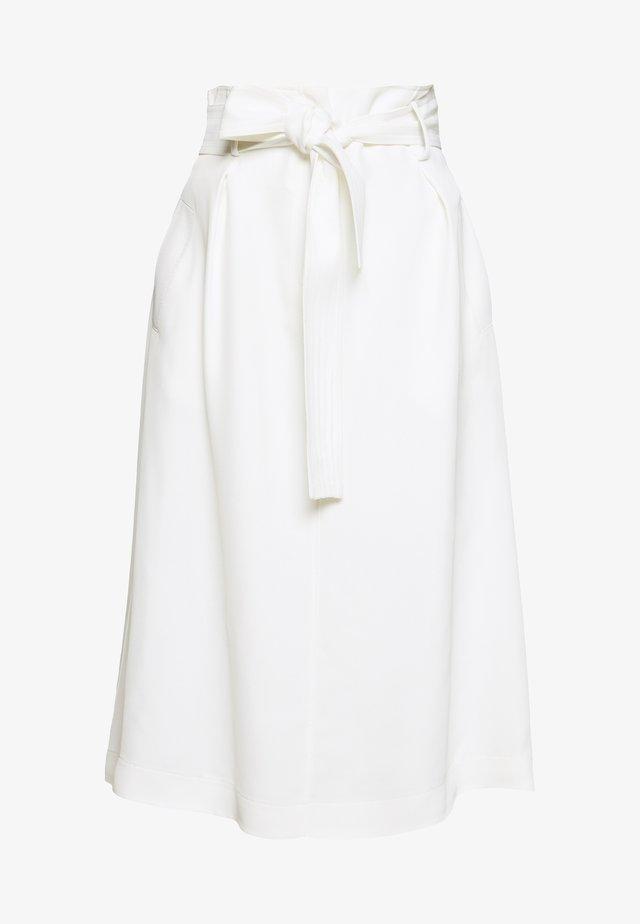 Spódnica trapezowa - avorio