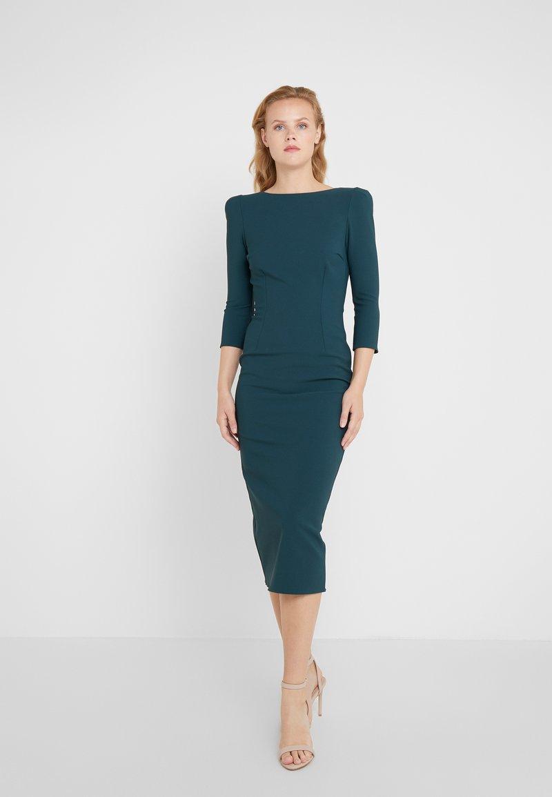 Elisabetta Franchi - Shift dress - verde bottiglia