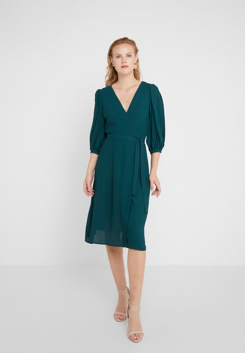 Elisabetta Franchi - Day dress - verde bottiglia