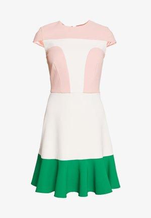 Day dress - rosa antico/burro
