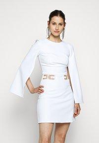 Elisabetta Franchi - Vestito elegante - avorio - 0