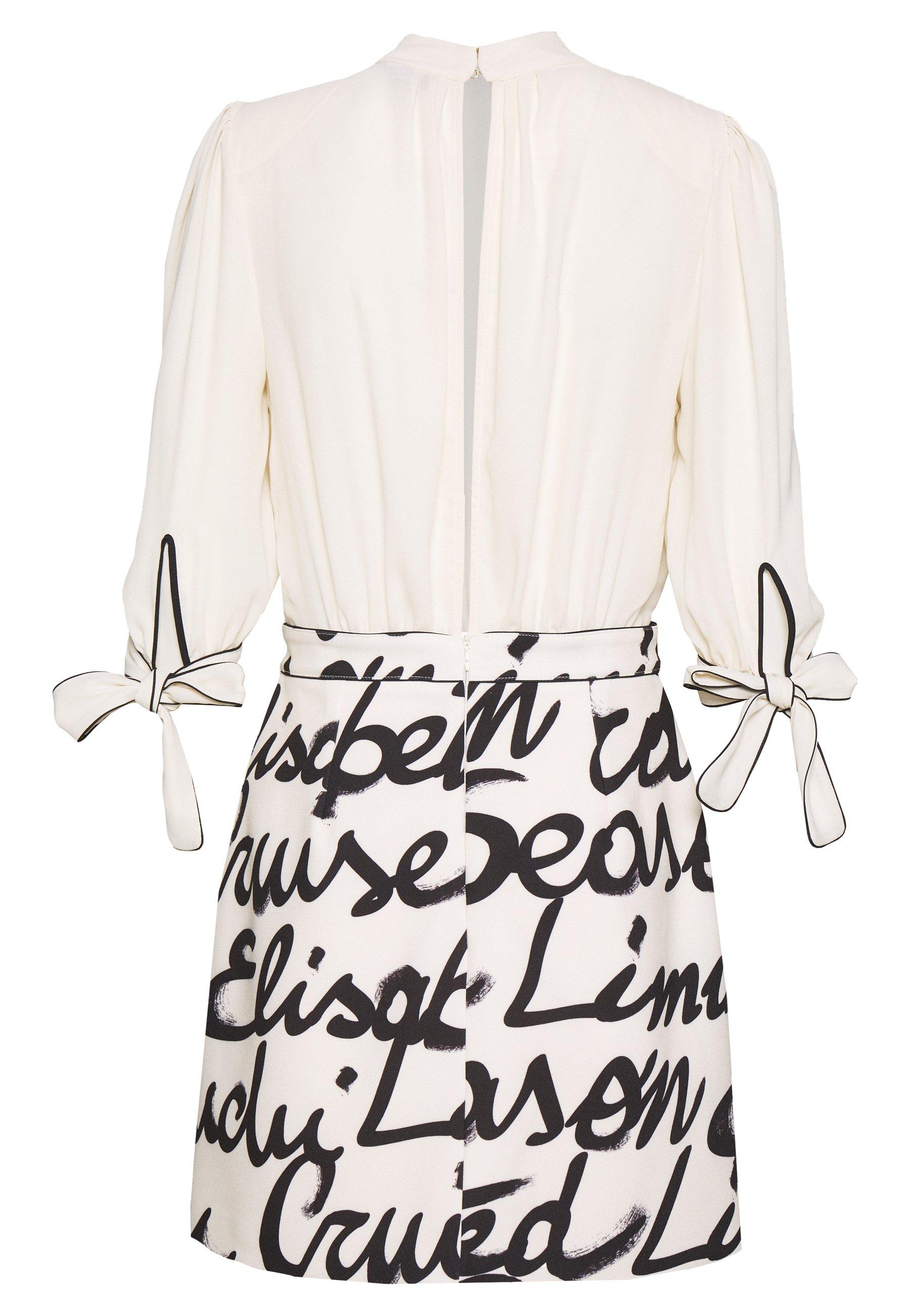 Elisabetta Franchi 2-IN-1 - Spódnica trapezowa - off-white